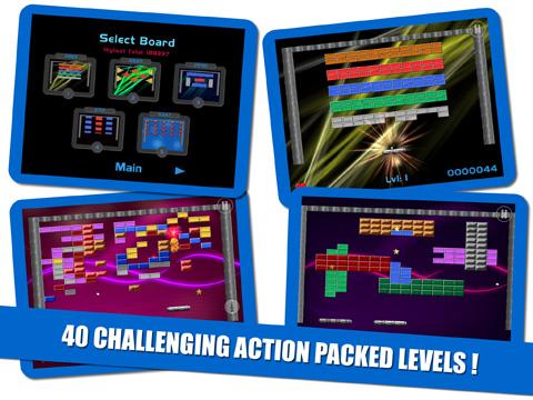 brick breaker game 40 levels